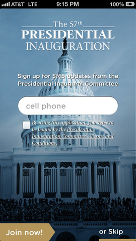 Download AT&T Inauguration App