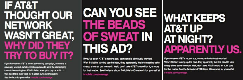 T-Mobile Attacks AT&T: New Must-See Ads
