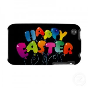 easter on iphone