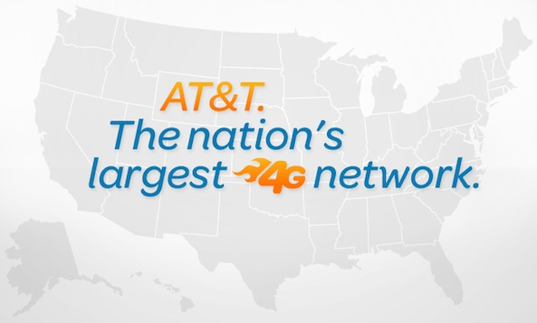 New Cities on AT&T LTE Coverage Area