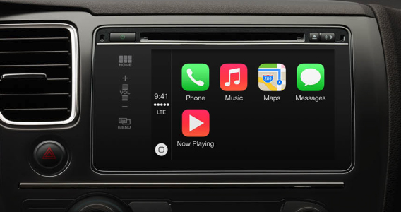 iOS CarPlay feature