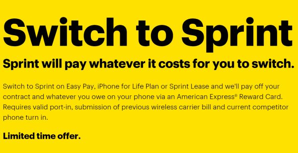 Switch to Sprint Offer in U.S.