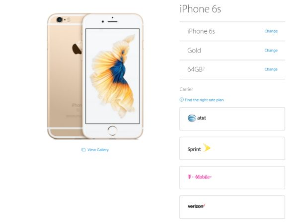 iPhone 6s Sold Out on Apple Online Store Ahead of Public Release