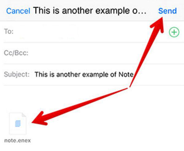 Transfer Evernote to iOS 10 Notes App