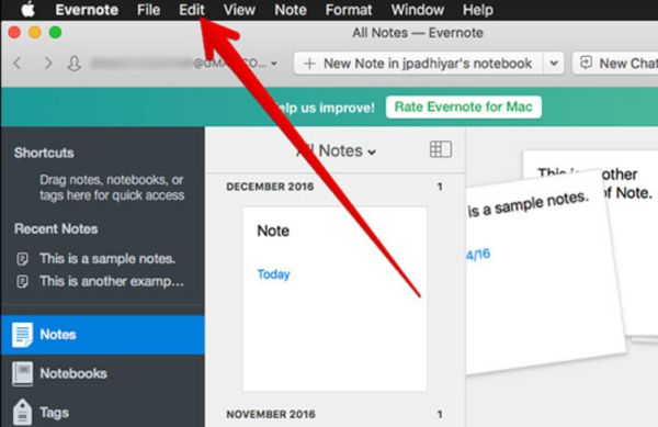 How to Transfer Files Mac Evernote to Notes App