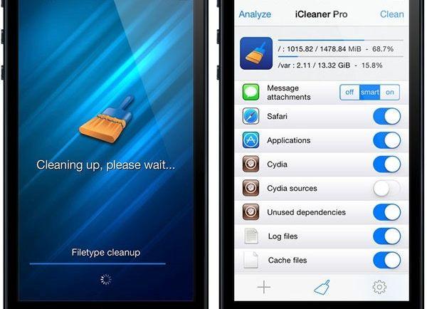 iPhone iCleaner Pro no Jailbreak