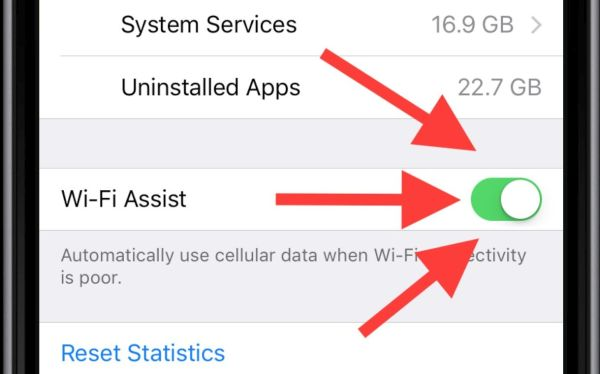 iOS 10 Wi-Fi Assist Feature iPhone 7