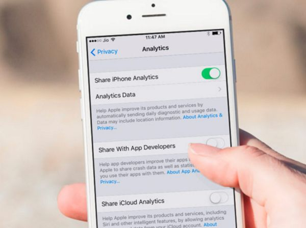 How to Easily Share iCloud and iPhone Data via iOS 10.3 Analytics Tools