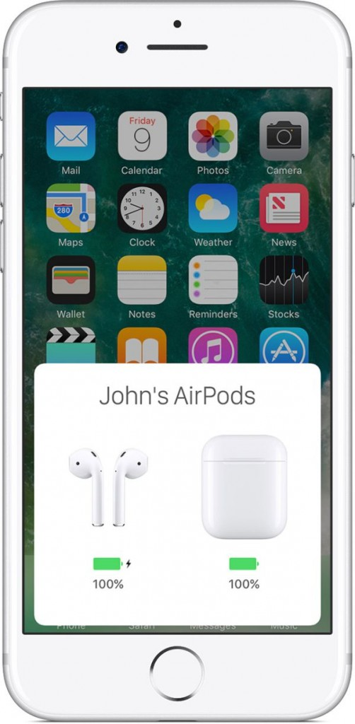 Make sure your AirPods are fully charged before update