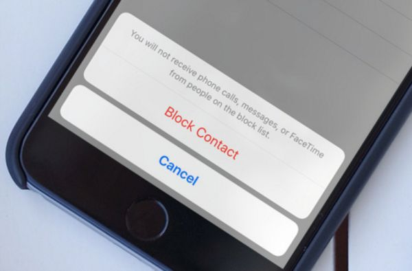 How to Block iPhone Spam Contact