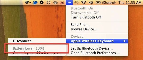 How to find out your Bluetooth Device battery level on Mac
