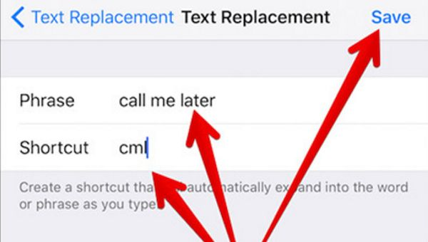 iPhone iOS 10 SMS Shortcuts Creation