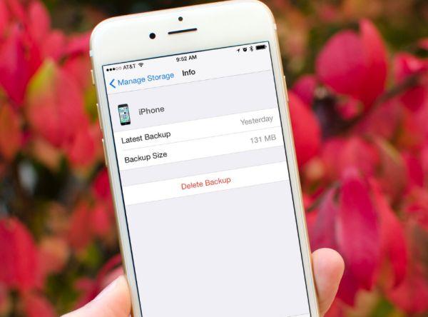 Manage storage on iPhone