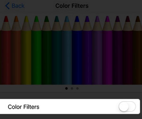 Turn Off iPhone Color Filters to Fix Dim Screen Problem