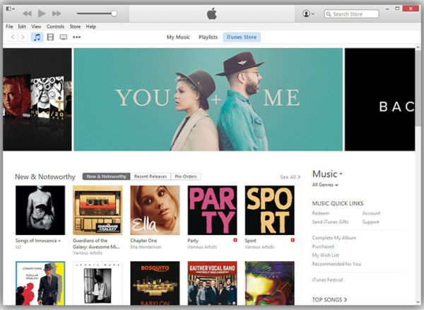 Download iTunes 12.3.1 Update System Requirements Mac Windows