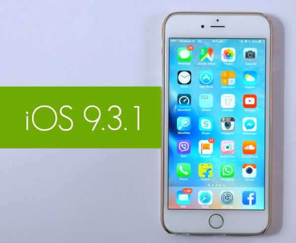 Downrade from iOS 9.3.1 to iOS 9.3 signing status