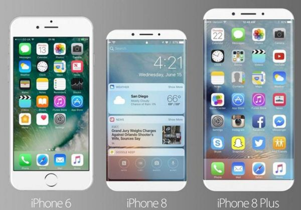 iPhone 8 Concepts: edge-to-edge screen ideas