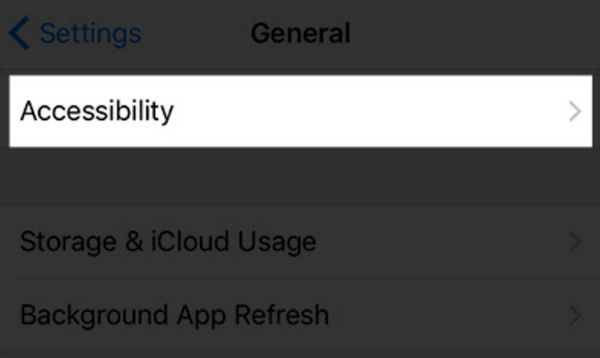 Accessibility on iPhone 7