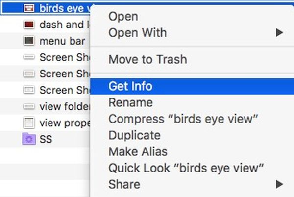 How to Show or Hide particular filename extension on Mac