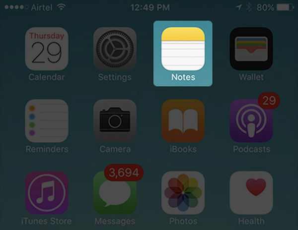 iPhone Notes App Recover Deleted Files