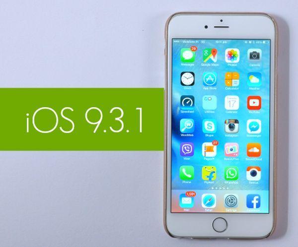 SIM Unlock iPhone iOS 9.3.1
