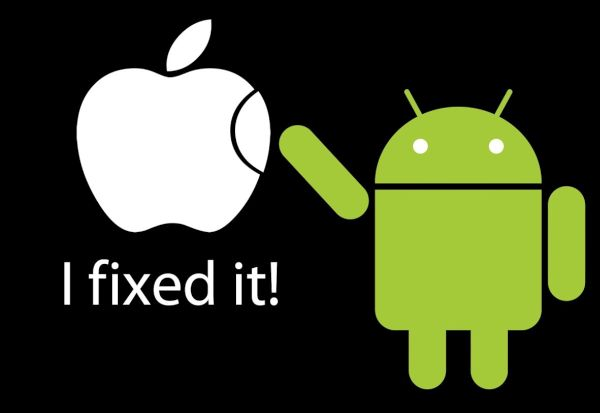 Switch from Apple to Android iPhone Samsung