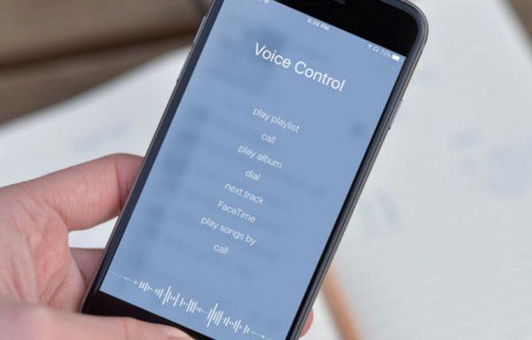 iOS 10 Voice Control