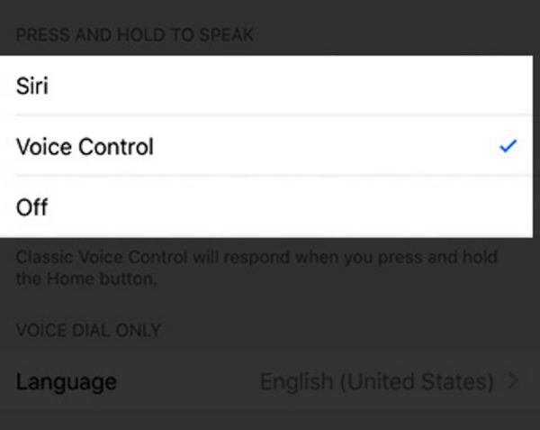 Enable Voice Control iPhone 7 Guide