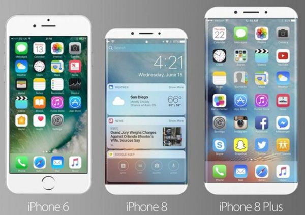 iPhone 8 Concepts Images