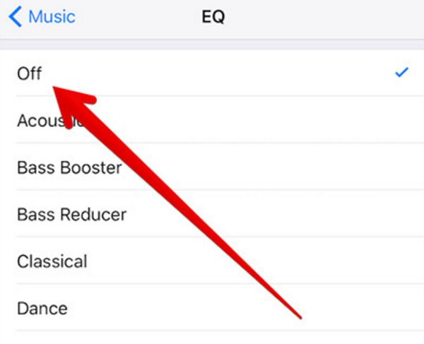 How to Disable iPhone Equalizer for Music
