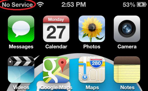 iPhone No Service Problem fix iOS 9 iOS 8 iPhone 5s iPhone 6