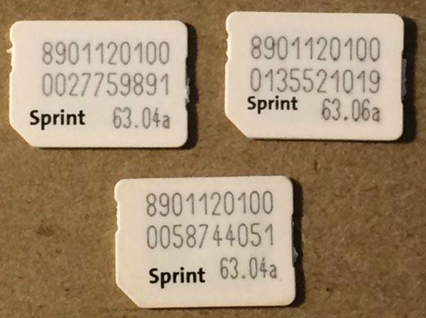 Factory SIM unlock iPhone from Sprint network