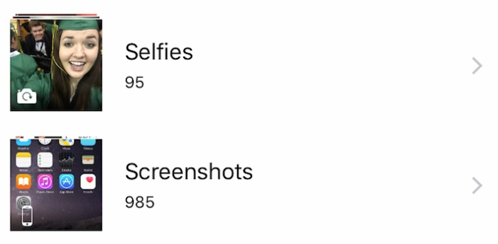 selfie folder